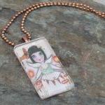 Joy in my Heart Art you can wear pendant