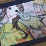 GYPSY HEART 5x7 art card