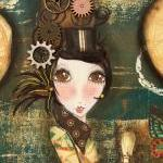 Discover Steampunk mixed media prin..